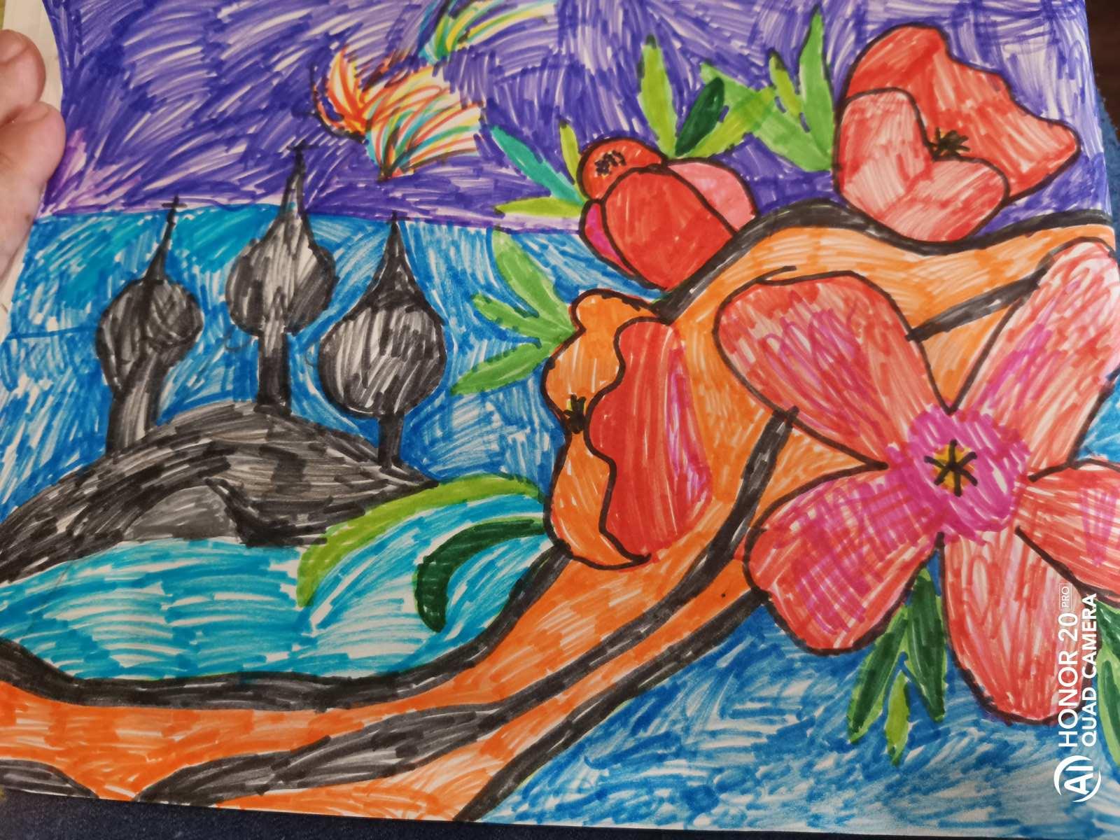 Рисунок Гущиной Эльвины