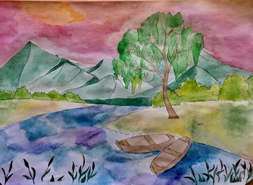 Рисунок Костенко Дианы